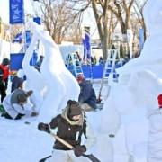 International de sculpture sur neige - Volet Relève
