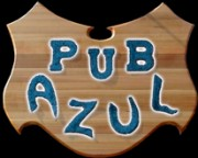 Pub azul